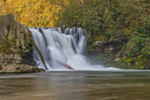 Abrams Falls in beautiful Cades Cove