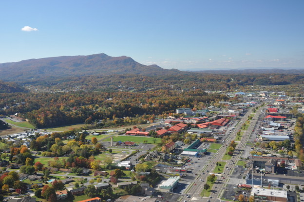 The Parkway in Pigeon Forge Tn