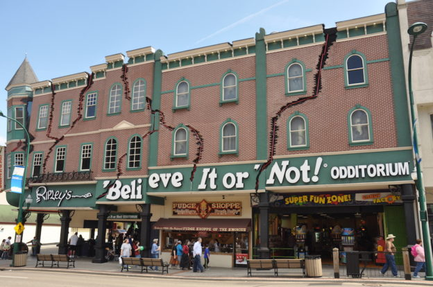 Ripley's Believe It or Not! Odditorium in Gatlinburg TN.