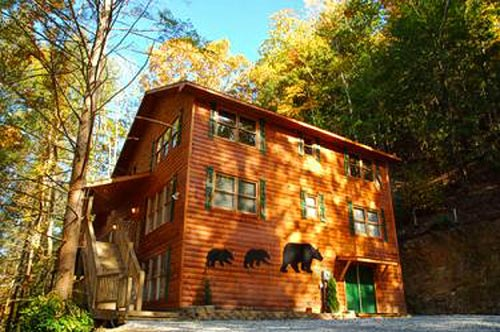 Bear Britches Lodge near Pigeon Forge